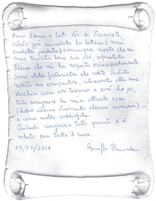 testimonianza venditore casa singola con terreno a Monselice