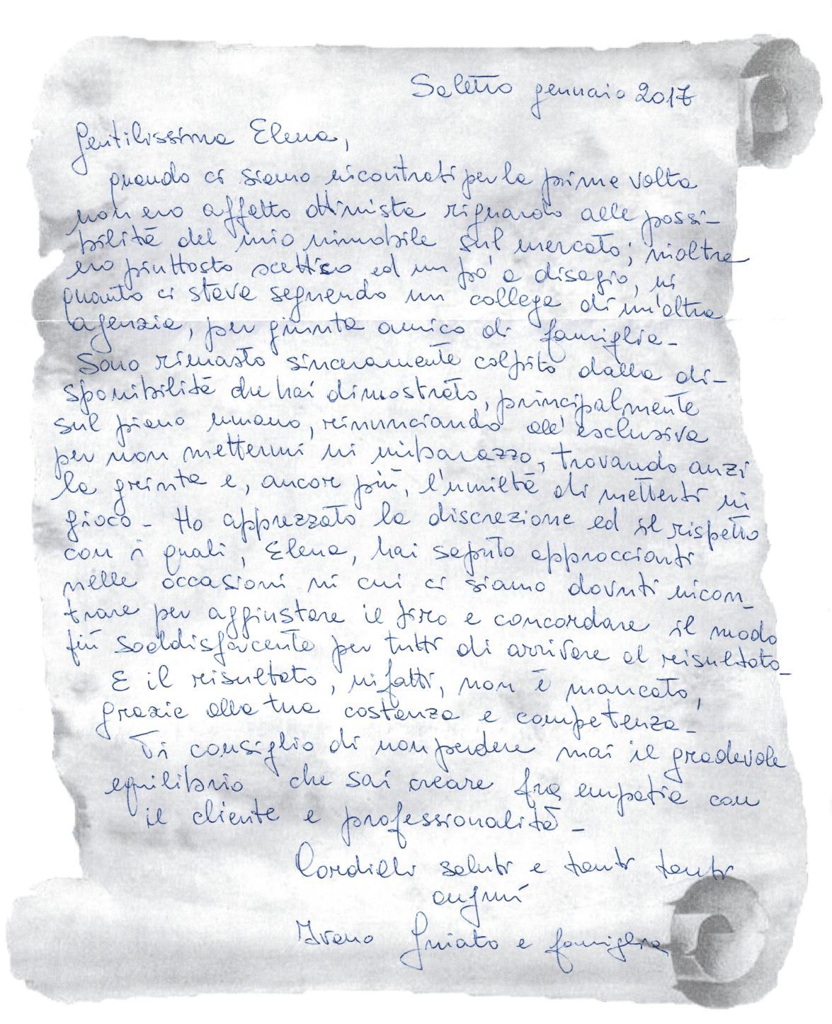 testimonianza venditore casa singola a Monselice, settembre 2015
