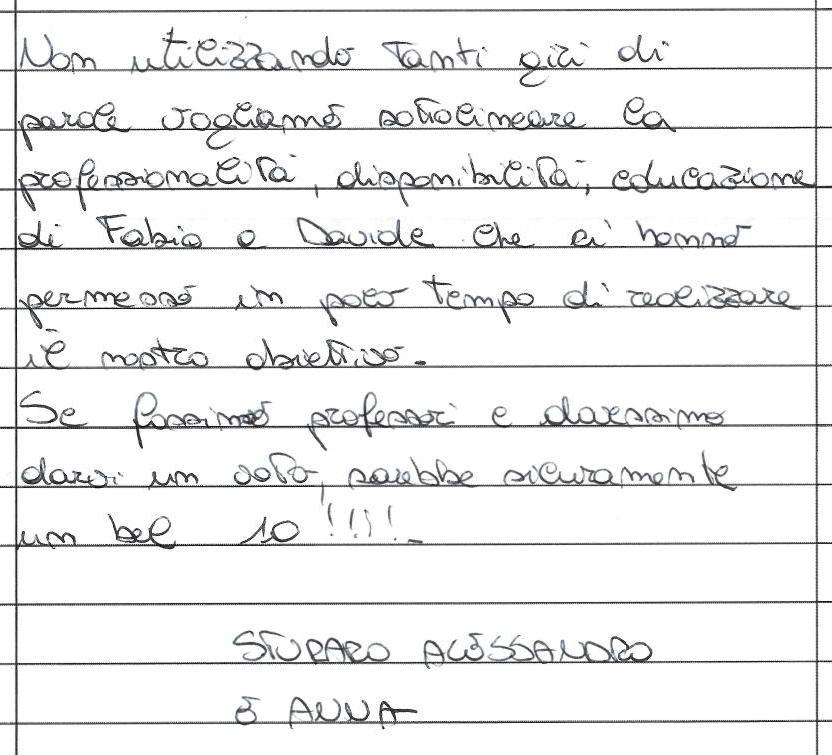 testimonianza cliente venditore villa bifamiliare Tribano, giugno 2014