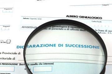 modello dichiarazione di successione